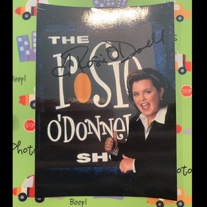 Rosie O'Donnell Autographed Photo